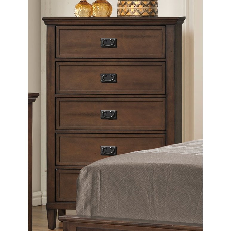 Classic Brown Chest Of Drawers Park City