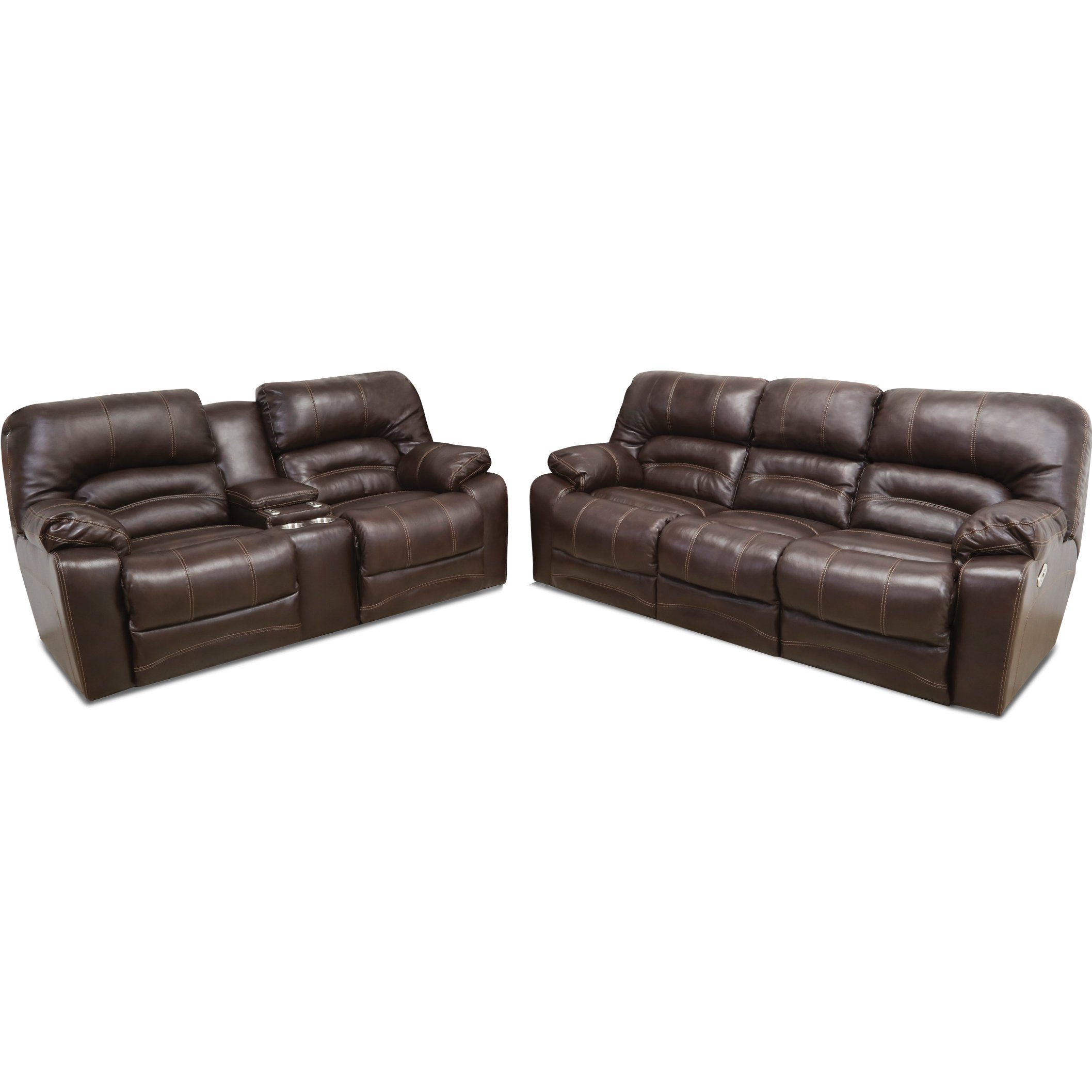 elegant couch brown and sofa with home interior reclining for leather power