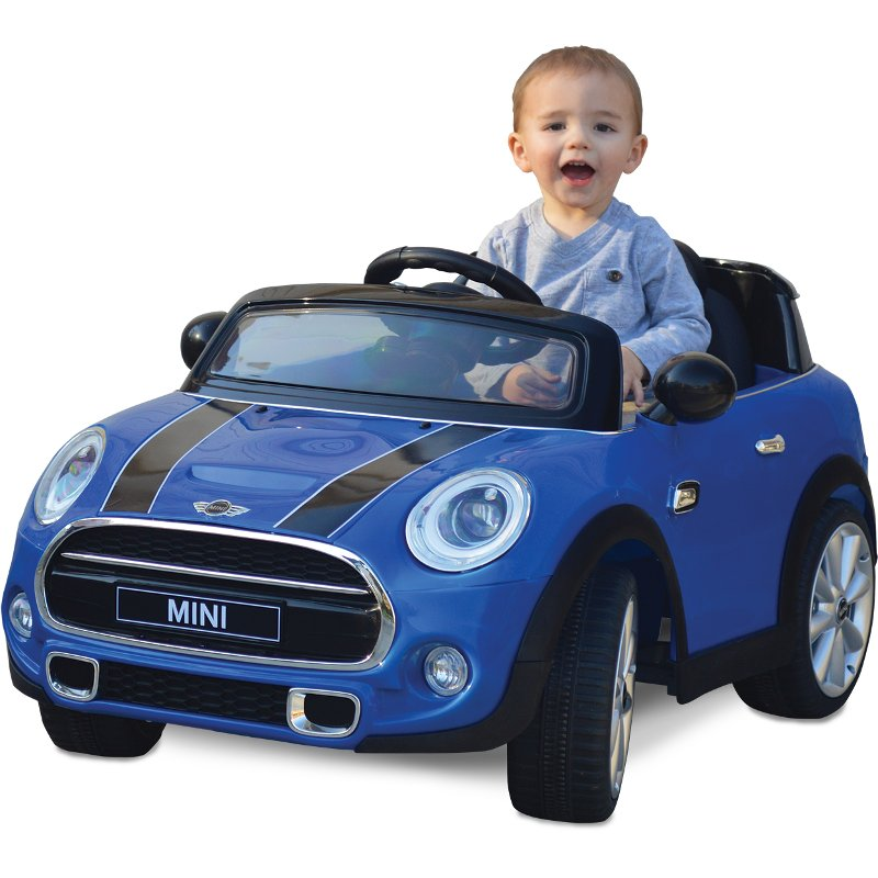 Rc Willey Truck: Blue Mini Cooper Ride In Car
