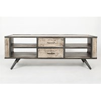 62 inch rustic grey tv stand american retrospective rc for American furniture warehouse tv stands