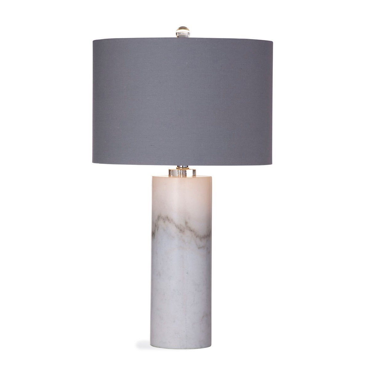 White Marble Table Lamp Rc Willey Furniture Store