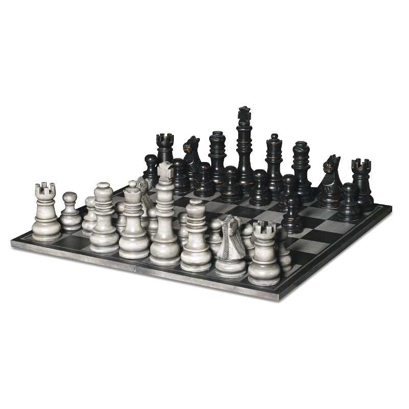 Rc Willey Orem Mall: Signature Hand Carved Chess Set