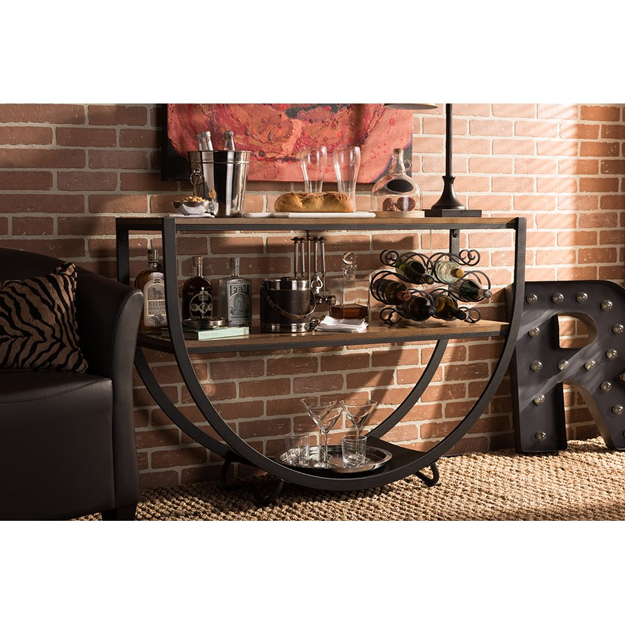 Rustic Industrial Console Table Blakes Rc Willey
