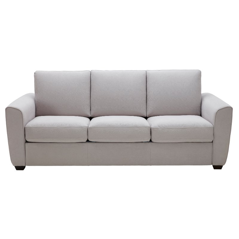Light Gray Transitional Queen Sofa Bed - Brandon