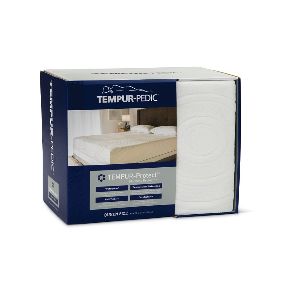 Tempur Pedic King Size Mattress Pad And 10 Year Limited Protection
