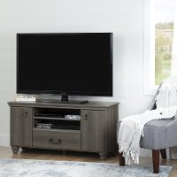 Noble Gray Maple 55 Inch Tv Stand Rc Willey Furniture Store
