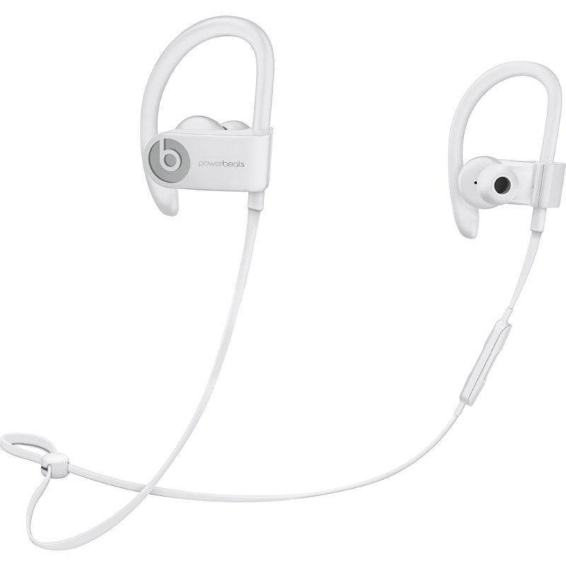 Beats Wireless Powerbeats 3 Earphones White Rc Willey Furniture Store