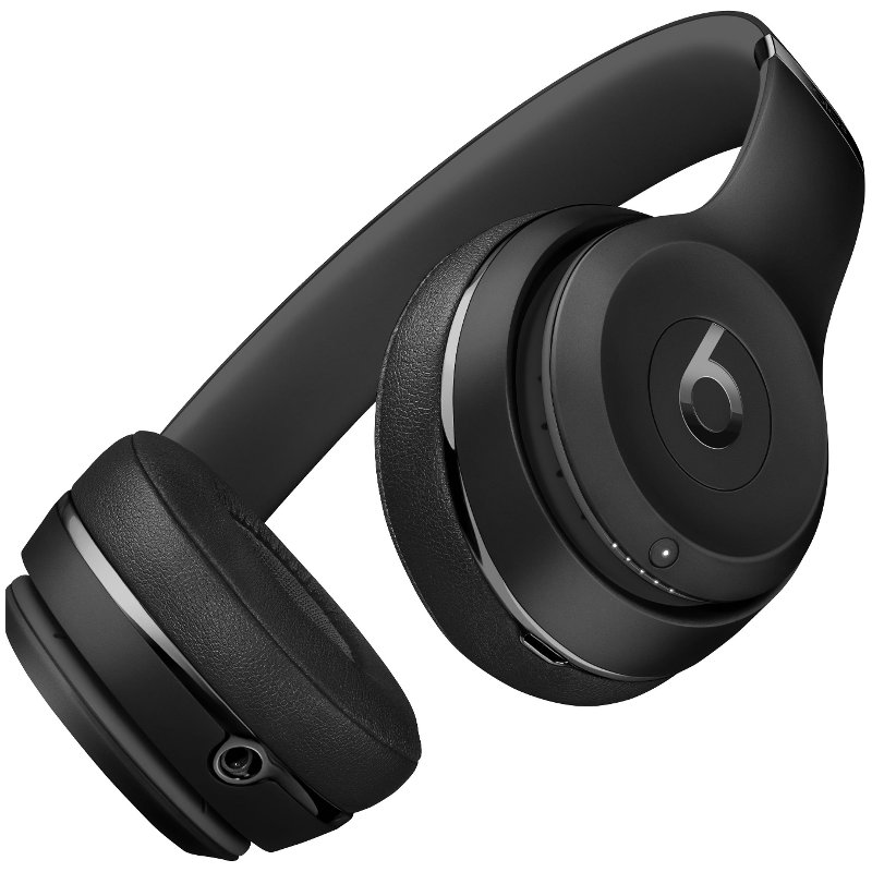 f5e13c74452 Wireless Beats Headphones Solo3 - Black | RC Willey Furniture Store