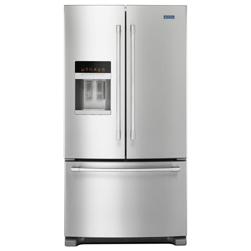 Ordinaire Maytag French Door Refrigerator   36 Inch Stainless Steel | RC Willey  Furniture Store