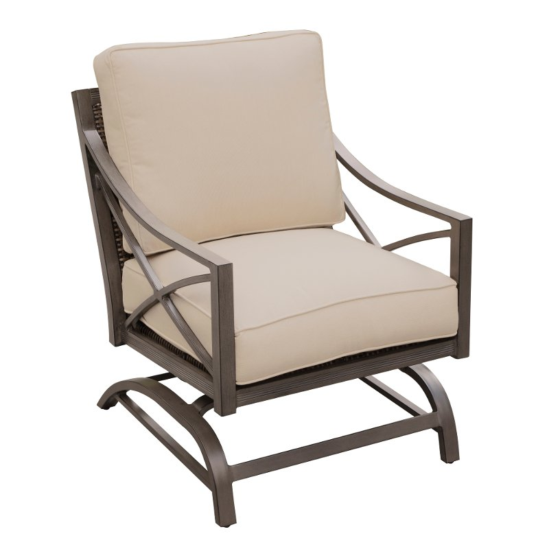 Pleasant Outdoor Patio Rocking Chair Davenport Caraccident5 Cool Chair Designs And Ideas Caraccident5Info
