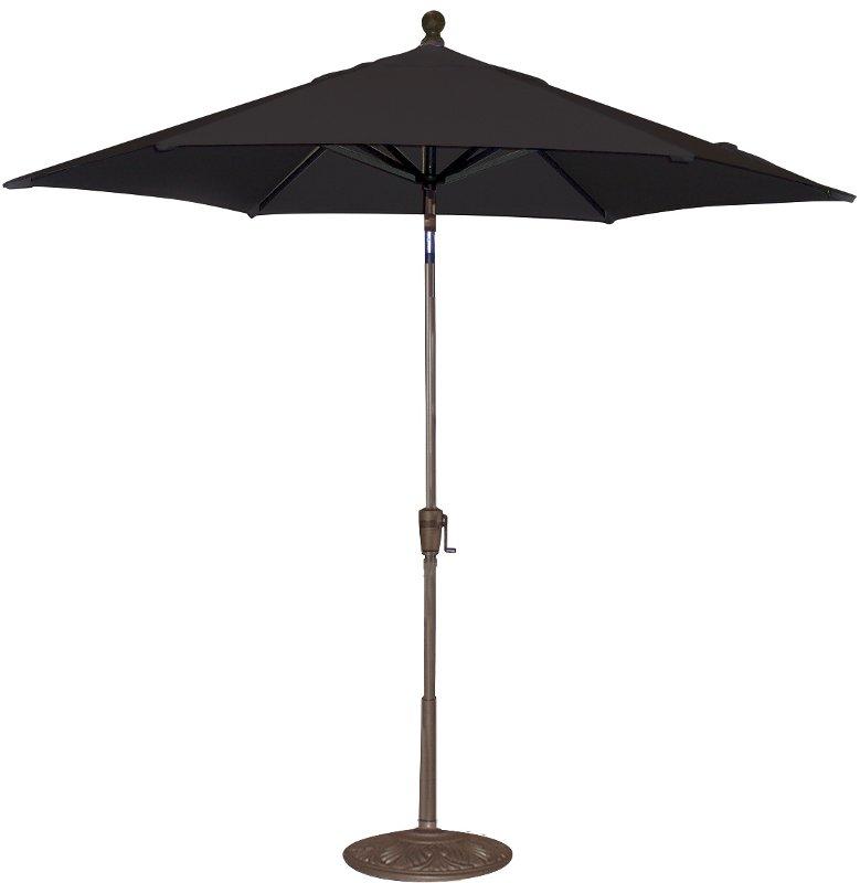 9 Black Patio Umbrella Rc Willey Furniture Store