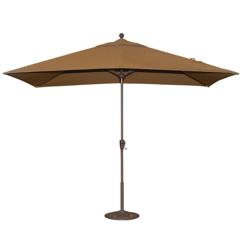 6.5u0027 X 10u0027 Sesame Patio Umbrella