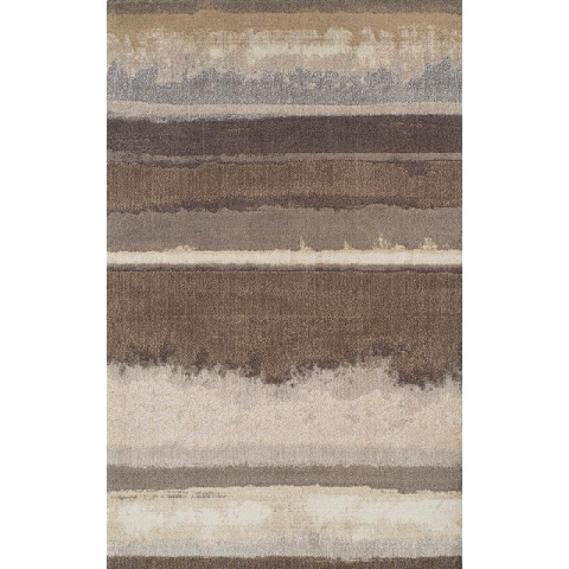5 X 8 Medium Mocha Brown Area Rug Antigua