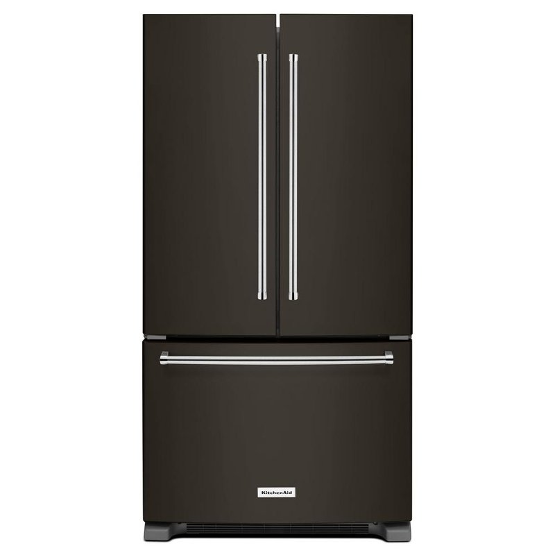 KitchenAid French Door Refrigerator   36 Inch Black Stainless Steel | RC  Willey Furniture Store