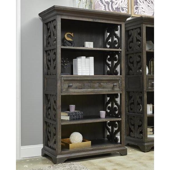 Willey Furniture Las Vegas: 68 Inch Deep Weathered Pine Bookcase