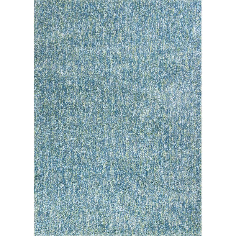 5 X 7 Medium Seafoam Blue And Ivory Area Rug Bliss