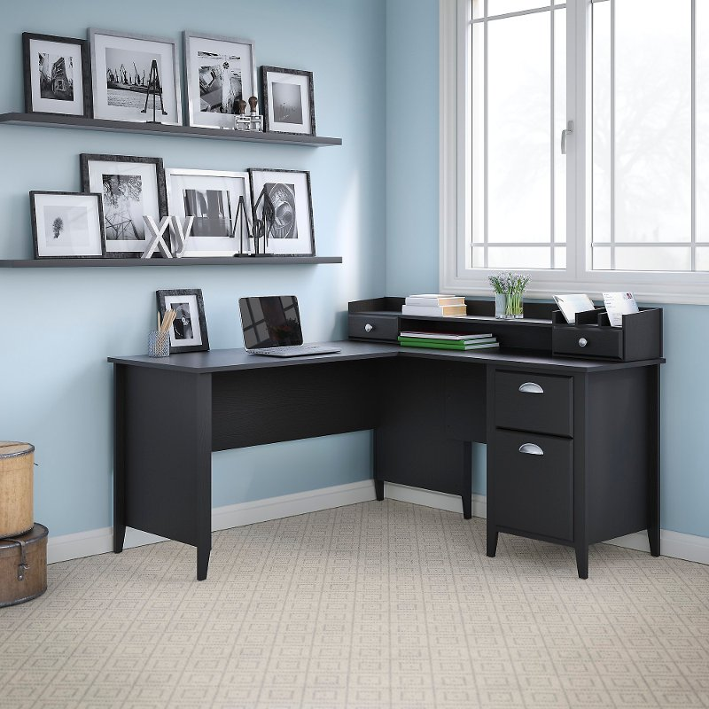 Kathy Ireland Office 60 W L Desk And Organizer Connecticut