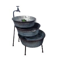 Metal 3 Tiered Water Fountain Rc Willey Furniture Store