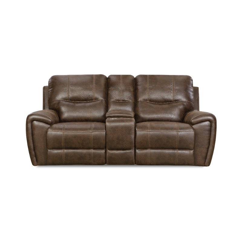 Remarkable Chocolate Brown Manual Reclining Loveseat Desert Creativecarmelina Interior Chair Design Creativecarmelinacom