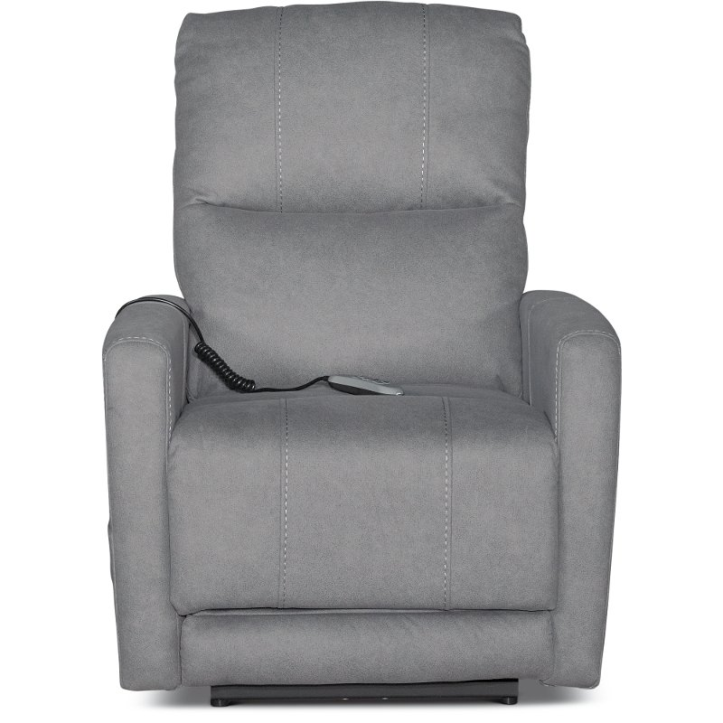 Prime Santa Barbara Fog Gray Power Recliner Bryant Theyellowbook Wood Chair Design Ideas Theyellowbookinfo
