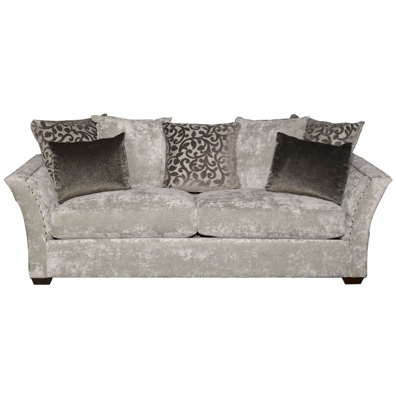 Casual Traditional Gray Sofa - Winslet