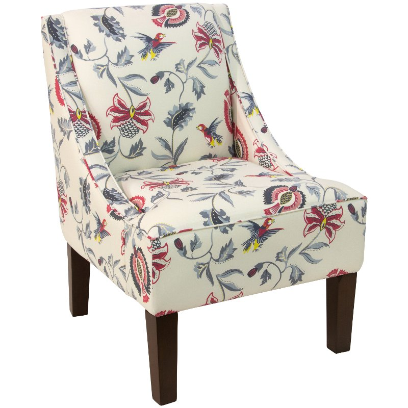 Bright Multi Swoop Arm Chair | RC Willey Furniture Store