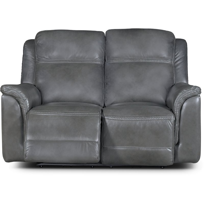 tulen ashley console only loveseat weekends furniture gray dual reclining