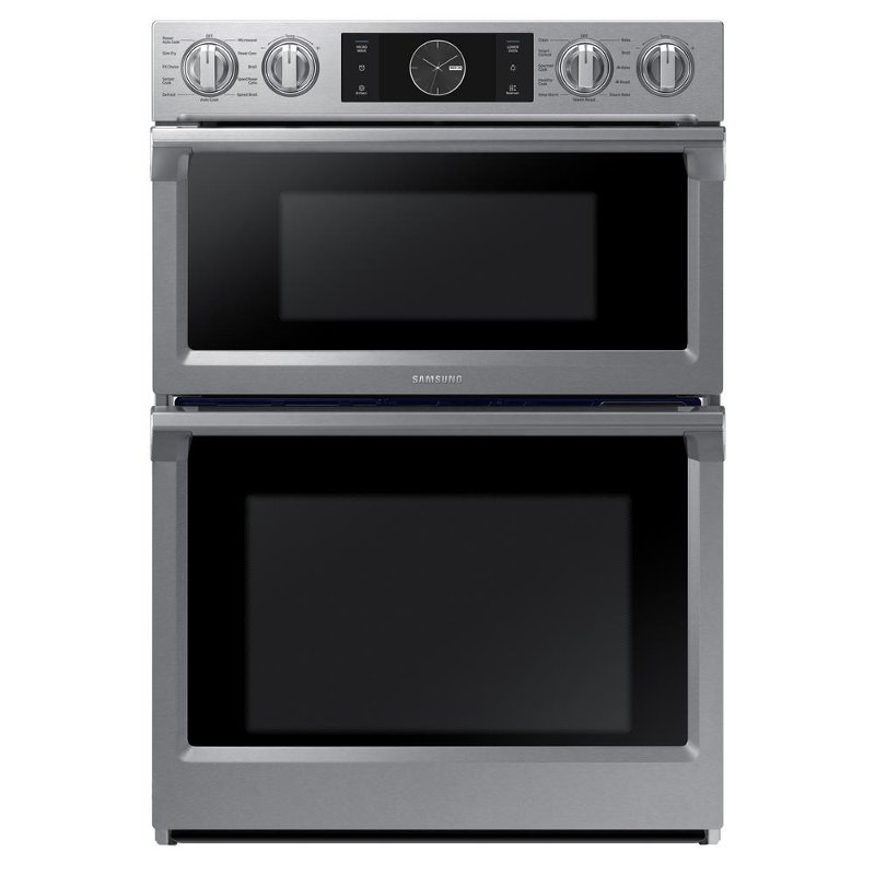 30 inch wall oven combo samsung 30 inch convection flex duo combo wall oven with builtin microwave stainless steel rc willey furniture store