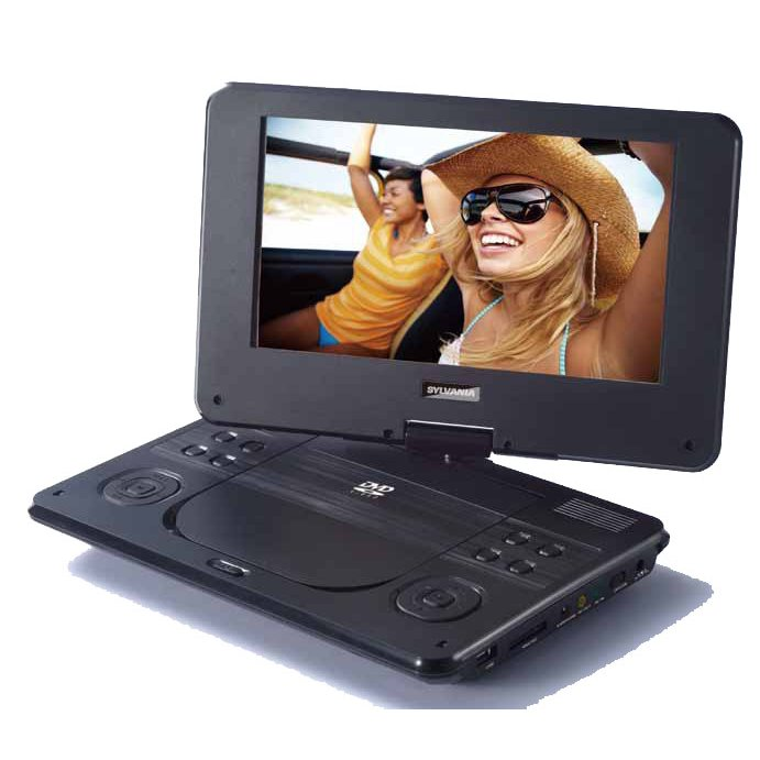 Rc Willey Electronics: Sylvania 9 Inch Swivel Screen Portable DVD Player