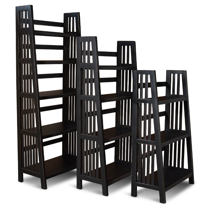 Rc Willey Boise Idaho: 72 Inch Modern Black Bookcase - Varsity