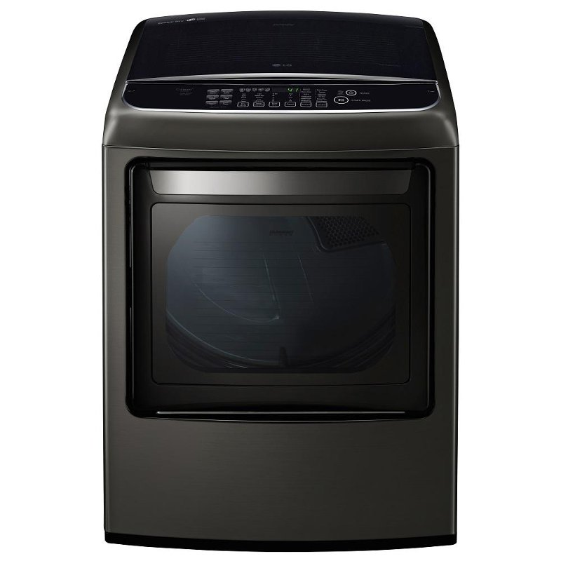 Lg Front Control Electric Dryer 7 3 Cu Ft Black Stainless Steel Rc Willey Furniture Store
