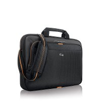 UBN101-4 15.6 Inch Orange and Black Laptop Briefcase