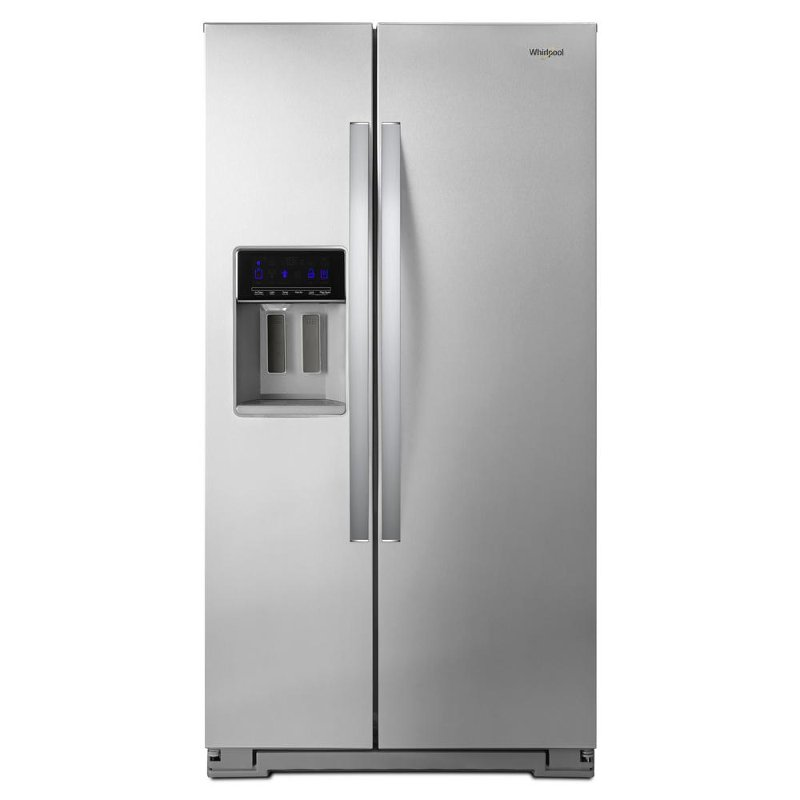 Whirlpool Side By Side Refrigerator 36 Inch Stainless