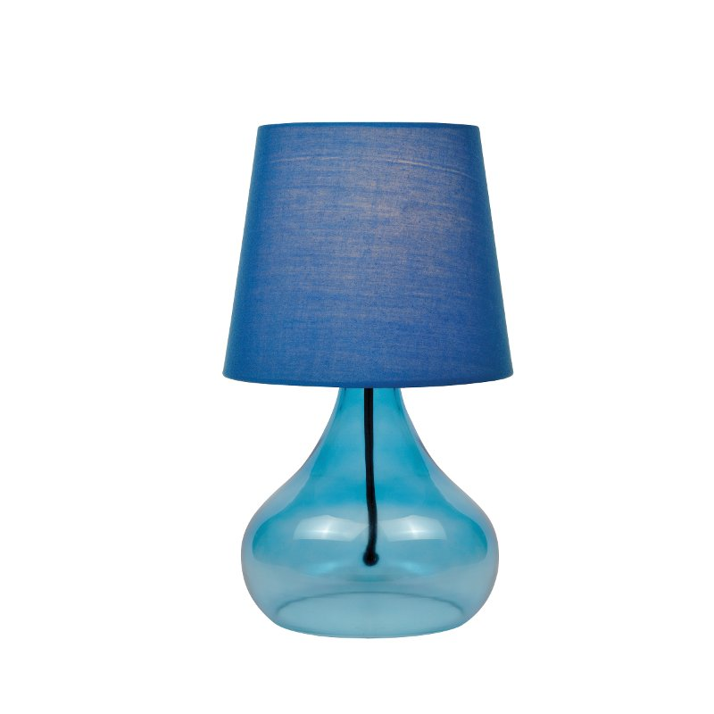 Blue Glass Jar Table Lamp Jamie Rc Willey Furniture Store
