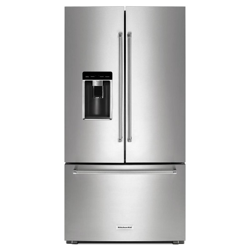 Merveilleux KitchenAid French Door Refrigerator   36 Inch Stainless Steel Counter Depth  | RC Willey Furniture Store