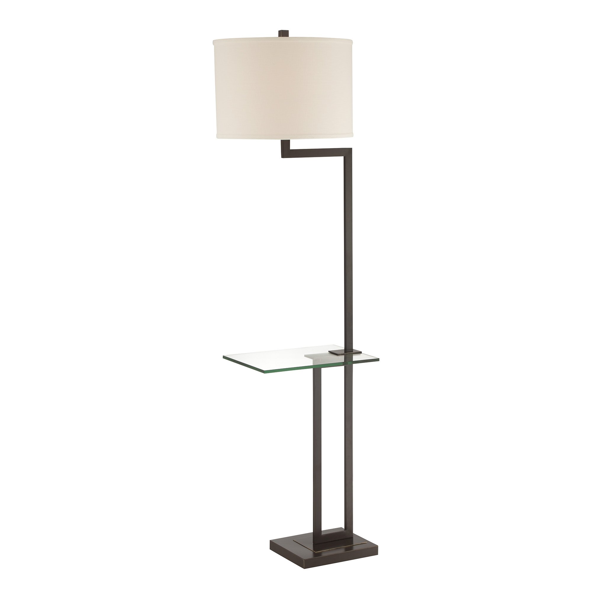 Floor Table Lamp With Gl Tray