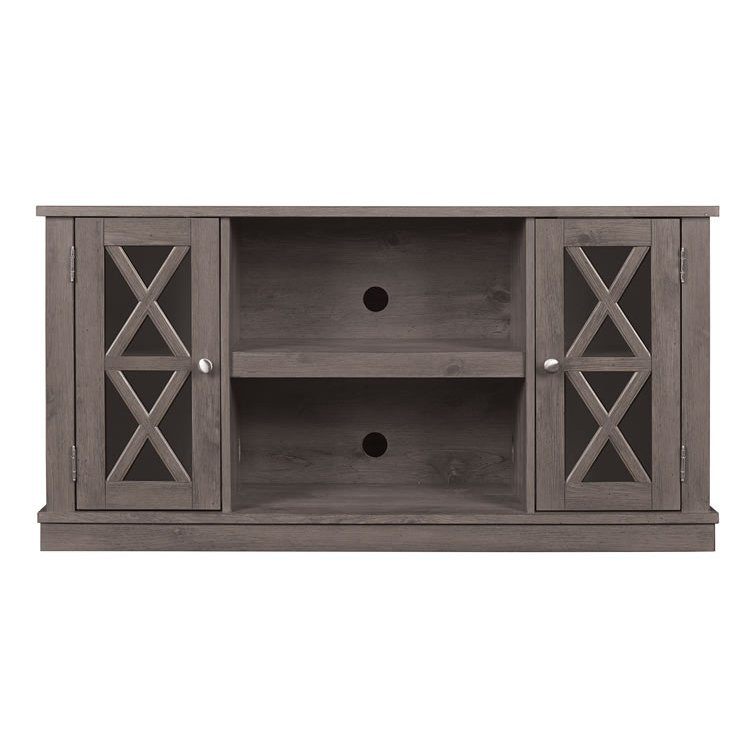 Contemporary Spanish Gray Tv Stand 48 Inch Bayport Rc Willey