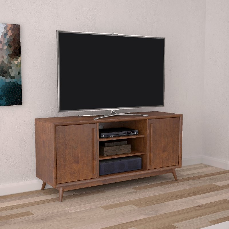 Rc Willey Tv Deals: Mahogany TV Stand - Leawood