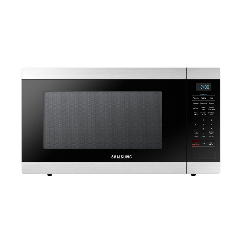 Samsung Countertop Microwave 1 9 Cu Ft Stainless Steel Rc Willey Furniture