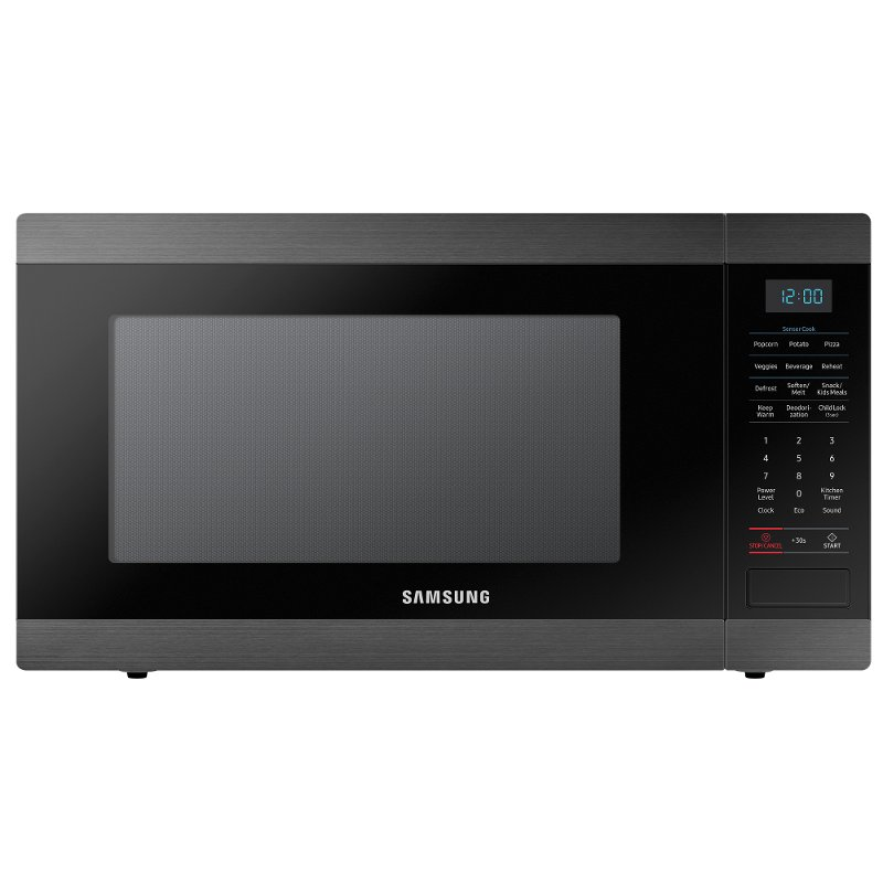 Samsung Countertop Microwave 1 9 Cu Ft Black Rc Willey Furniture