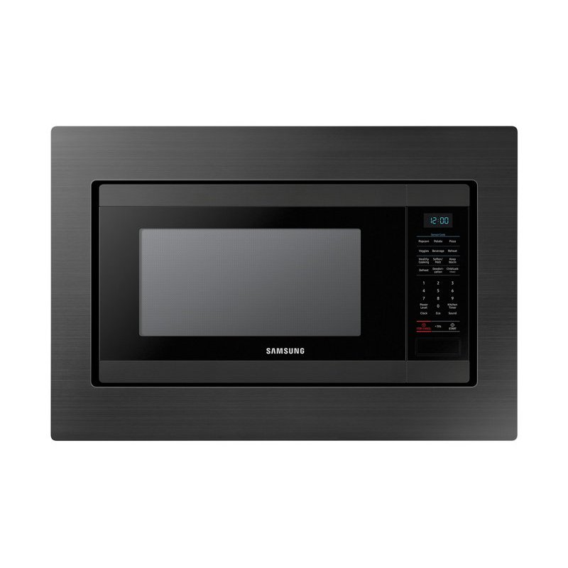 Samsung 30 Inch Microwave Trim Kit Black Stainless Steel Rc Willey Furniture