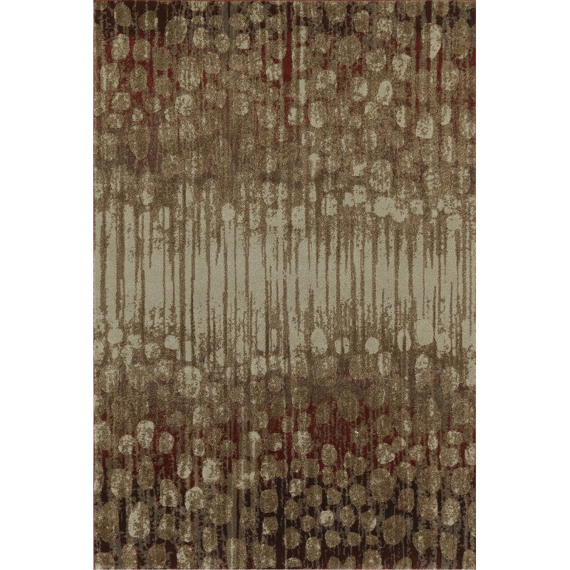 5 X 8 Medium Spice Brown And Rust Area Rug Upton Rc Willey