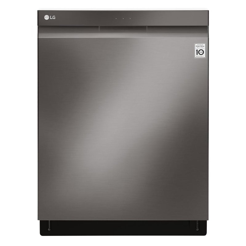 LG Top Control Tall Tub Dishwasher with 3rd Rack - Black Stainless ...