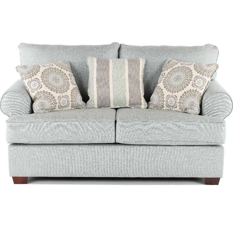 Fabulous Casual Classic Mist Green Loveseat Alison Andrewgaddart Wooden Chair Designs For Living Room Andrewgaddartcom
