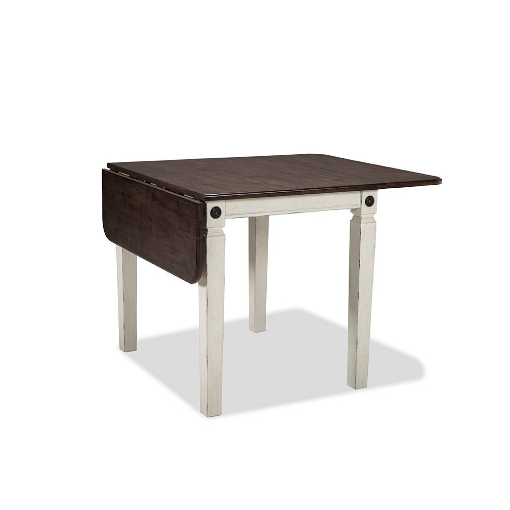 White Drop Leaf Table Glennwood Rc Willey Furniture Store