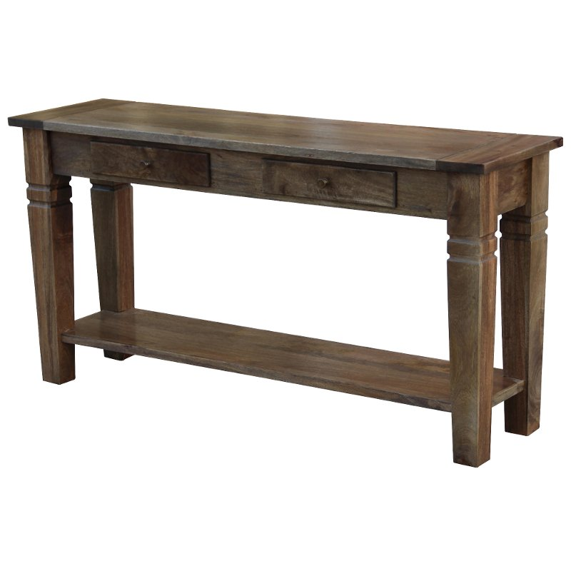 Traditional Narrow Console Table