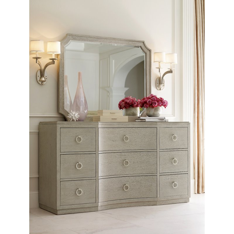 Rachael Ray Home Gray Dresser Cinema Rc Willey Furniture Store