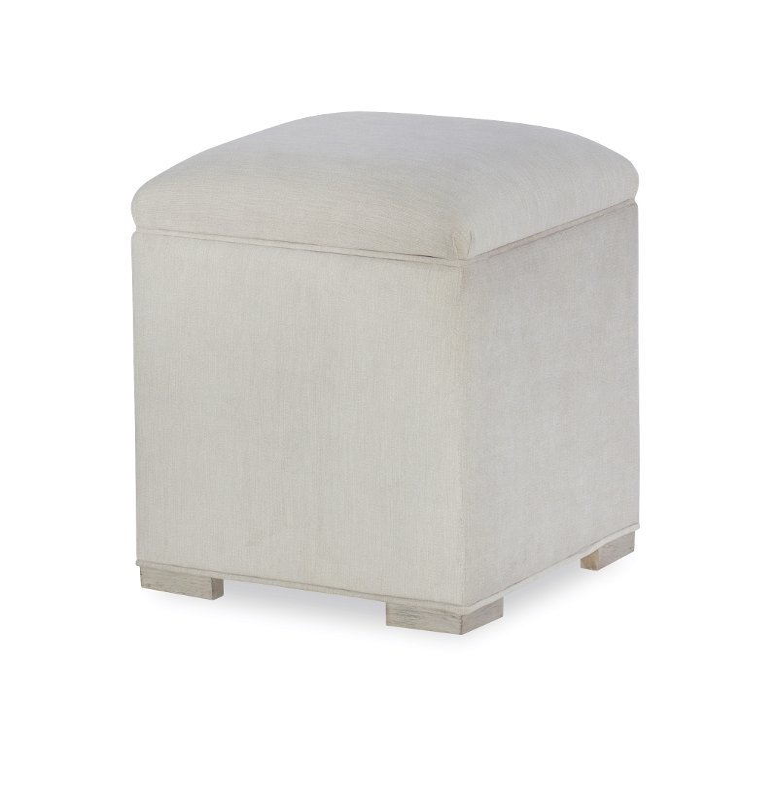 Rachael Ray Home Gray Upholstered Vanity Stool Cinema Rc Willey
