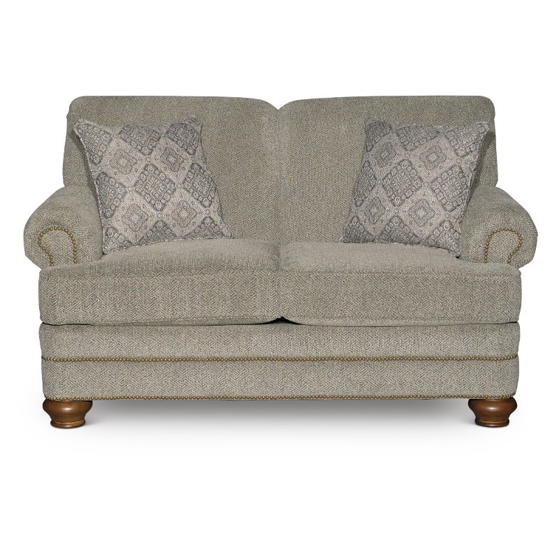 Casual Traditional Urban Wheat Loveseat   Reed