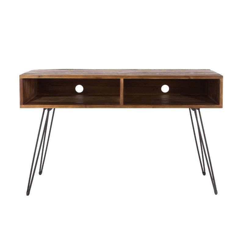 Natural Brown Wooden 50 Inch Tv Stand Eastwood Rc Willey